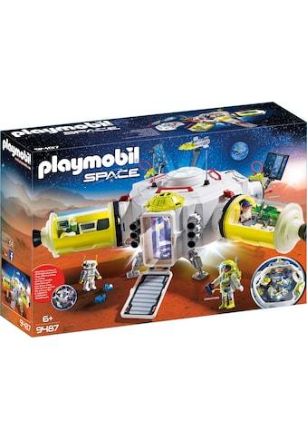 "Playmobil® Konstruktions - Spielset ""Mars - Station (9487), Space"", Kunststoff kaufen"
