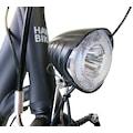 HAWK Bikes Cityrad »HAWK City Wave Easy Black«, 7 Gang, Shimano, Nexus Schaltwerk