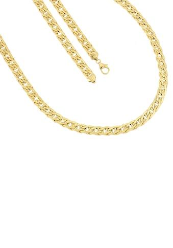Firetti Goldkette »In Fantasiekettengliederung, 7 mm breit, Glanz, halbmassiv« kaufen