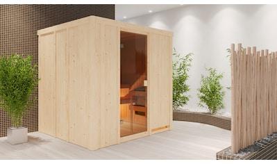 welltime Sauna »Gerda«, ohne Ofen, mit 6-tlg. Zubehörset kaufen