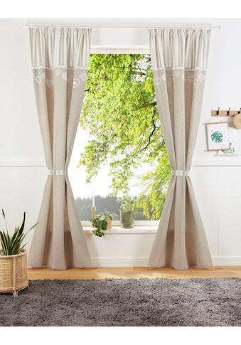 Vorhang, »MERLE«, Home affaire, Kräuselband 1 Stück kaufen