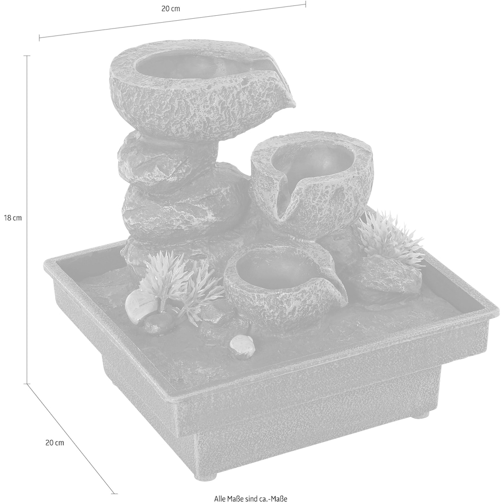Home affaire Zimmerbrunnen »Floating Stones«