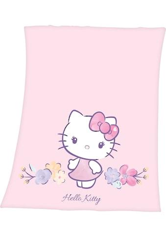 Hello Kitty Kinderdecke »Hello Kitty«, mit niedlichem Hello Kitty Motiv kaufen