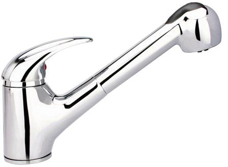 SCHÜTTE Spülenarmatur »Albatros, mit Schlauchbrause, Niederdruck« | Küche und Esszimmer > Spülen > Spülenarmaturen | SCHÜTTE