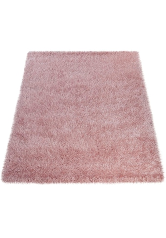 Hochflor - Teppich, »Glamour 300«, Paco Home, rechteckig, Höhe 70 mm, maschinell gewebt kaufen