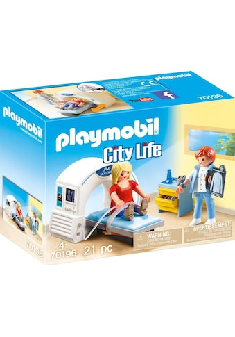 Playmobil® Konstruktions-Spielset »Beim Facharzt: Radiologe (70196), City Life«, (21 St.), Made in Europe kaufen
