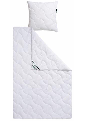 f.a.n. Schlafkomfort Kunstfaserbettdecke »Wellness für die Haut«, leicht, Bezug 100%... kaufen