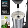 Arendo Smoothie-Maker »Getränkemixer in schwarz mit 100W / 22.000 U/min«, 100 W, elektrisch mit 500ml Becher