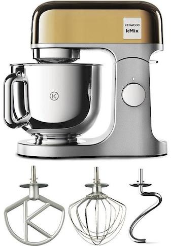 KENWOOD Küchenmaschine »KMX760YG kMix Premium Edition Gold«, 1000 W, 5 l Schüssel, mit... kaufen