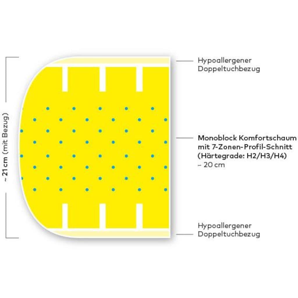 Hilding Sweden EXKLUSIV Komfortschaummatratze »Lasse«, (1 St.)