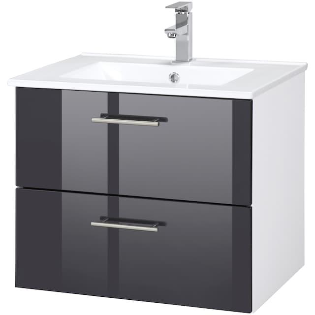 WELLTIME Waschplatz-Set »Trento «, Waschtisch, Breite 60 cm, 2-tlg.