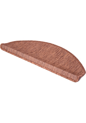 Stufenmatte, »York«, LUXOR living, halbrund, Höhe 8 mm, maschinell gewebt kaufen