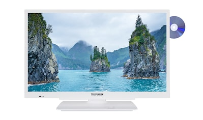 Telefunken LED - Fernseher (24 Zoll, HD - Ready, DVB - T2 HD, DVD) »XH24G101D - W« kaufen