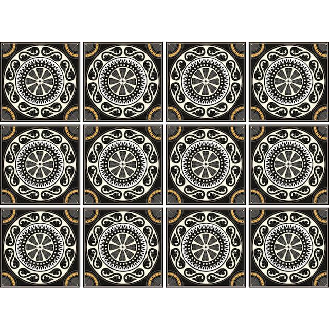 Fliesenaufkleber »Kreise«
