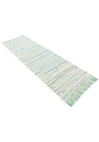 Läufer, »Kelim Chindi«, carpetfine, rechteckig, Höhe 6 mm, handgewebt kaufen