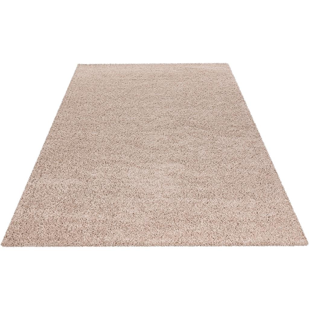 Obsession Hochflor-Teppich »My Candy 170«, rechteckig, 26 mm Höhe, Uniteppich, Wohnzimmer