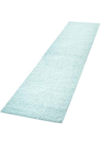 Hochflor - Läufer, »Pastell Shaggy300«, Carpet City, rechteckig, Höhe 30 mm, maschinell gewebt kaufen