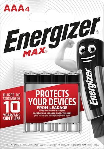 Energizer Batterie »Max Micro (AAA) 4 Stück« kaufen