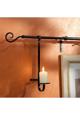 Kerzenhalter Liedeco, passend für Gardinenstangen kaufen