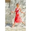 Aniston CASUAL Sommerkleid, mit Rockteil aus Plissee