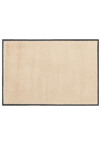 DELAVITA Fußmatte »Lavea«, rechteckig, 9 mm Höhe, Fussabstreifer, Fussabtreter, Schmutzfangläufer, Schmutzfangteppich, Schmutzmatte, Türmatte, Türvorleger, Uni Schmutzfangmatte, In- und Outdoor geeignet kaufen