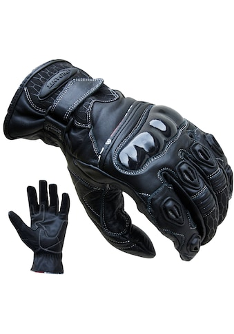 PROANTI Motorradhandschuhe, aus Leder, kurz geschnitten kaufen