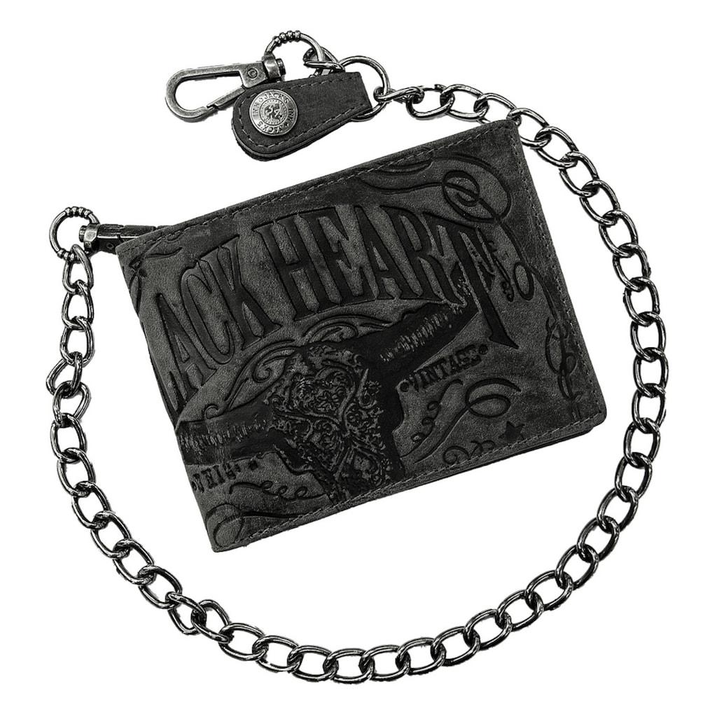 JACK'S INN 54 Geldbörse »Spade«, aus Leder mit Prägung in echter Handarbeit gefertigt