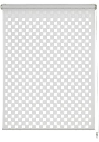 GARDINIA Doppelrollo »EASYFIX Doppelrollo Cut-Out Quadrat«, Lichtschutz, ohne Bohren, im Fixmaß kaufen