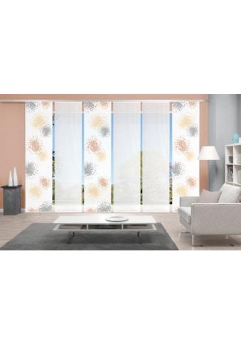 Vision Schiebegardine »SPOTTI 6er SET«, Bambus-Optik, Digital bedruckt kaufen