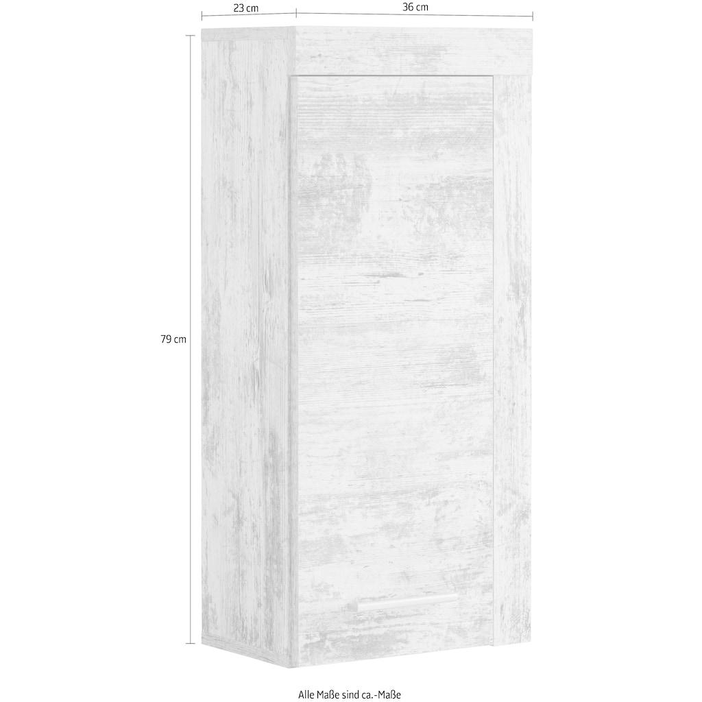 trendteam Hängeschrank »CANCUN«, mit Rahmenoptik in Holztönen, Breite 36 cm