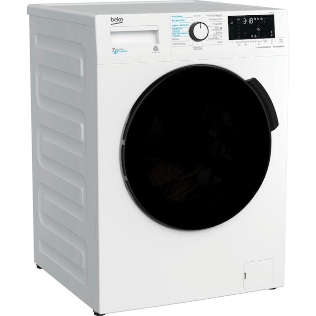 BEKO Waschtrockner WDW 75141 Steam, 7 kg / 4 kg, 1400 U/Min