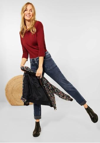 Cecil 5-Pocket-Jeans »Style Charlize«, mit aufgesetzten Eingriffstaschen kaufen