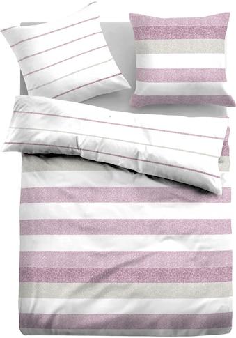 TOM TAILOR Wendebettwäsche »Letizia«, mit unterschiedlichen Streifen kaufen