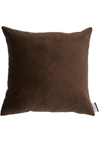 TOM TAILOR Kissenhülle »Velvet Linen Pad«, (1 St.) kaufen