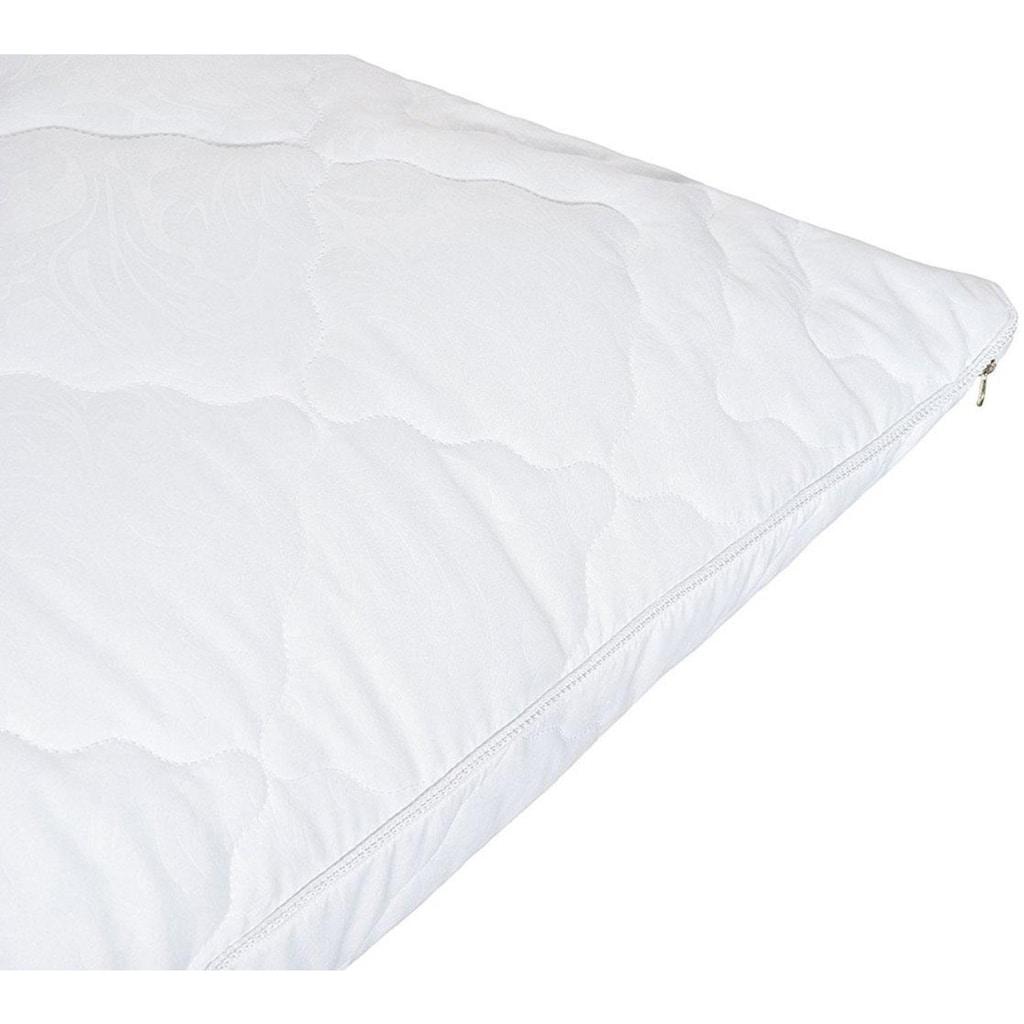 SEI Design Microfaserkissen »AIRDREAM Comfort«, Füllung: 100% Polyester, Bezug: 100% Polyester, (1 St.)