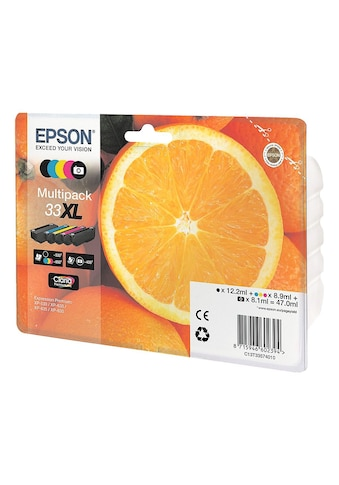 Epson Tintenpatronen-Set XL Nr. 33XL kaufen