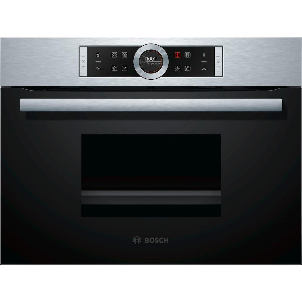 BOSCH Einbau-Dampfgarer »CDG634AS0«, mit touchControl