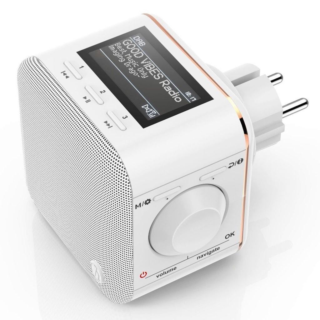 Hama Steckdosenradio, DAB Radio f. Steckdose, Bluetooth/FM