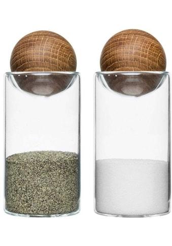 "sagaform Salz -  / Pfefferstreuer ""Oval Oak"", (Set, 2 - tlg.) kaufen"