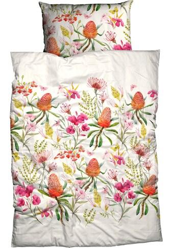 CASATEX Bettwäsche »Riva«, mit aufwendigen Blumendruck kaufen