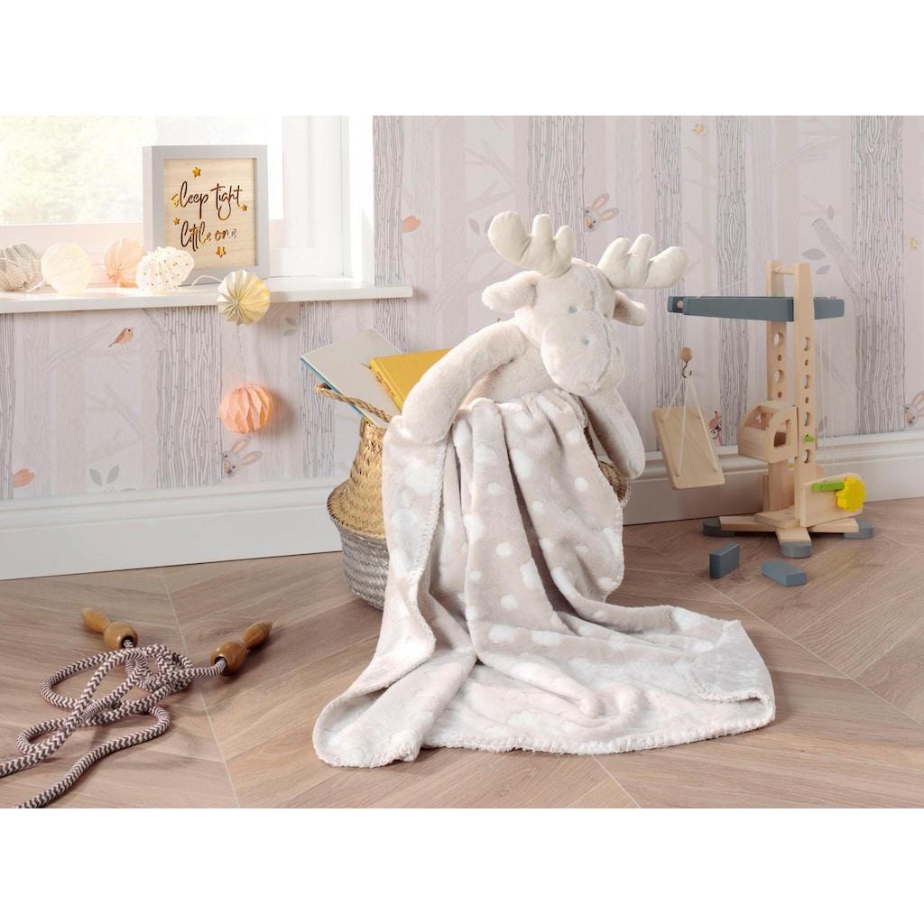 BIEDERLACK Babydecke »Elch«