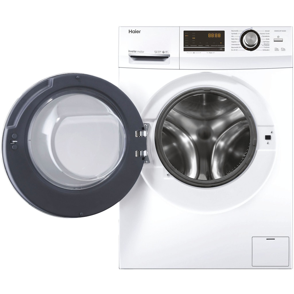 Haier Waschtrockner »HWD90-BP14636N«