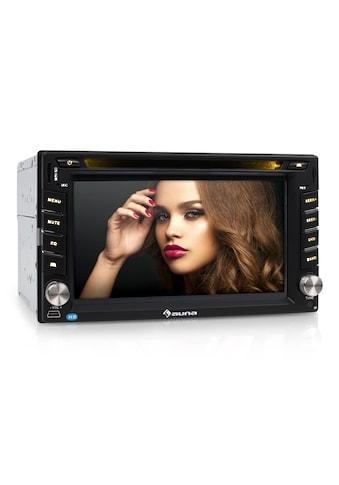 "Auna Autoradio Moniceiver DVD CD MP3 USB SD HD 6,2"" Touchscreen »MVD 480« kaufen"