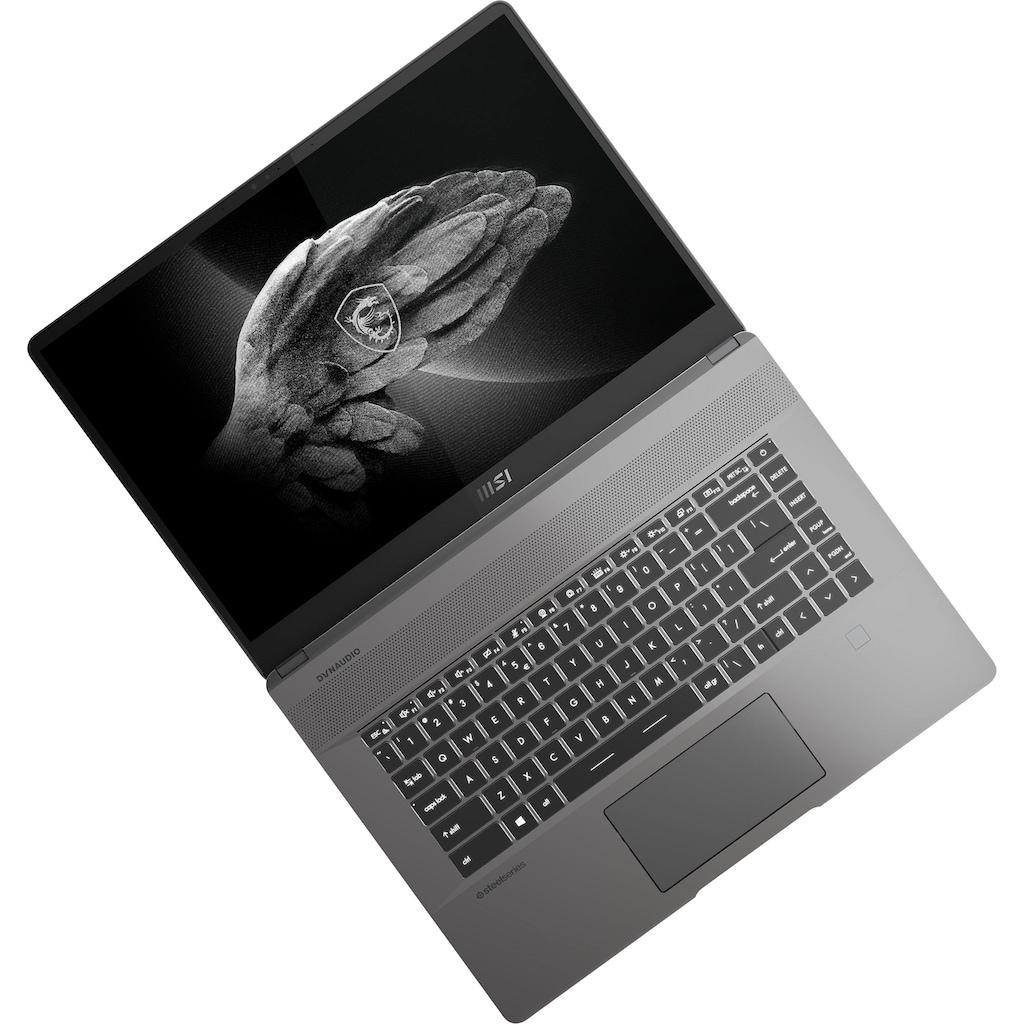 "MSI Notebook »A11UE-028«, (40,6 cm/16 "" Intel Core i7 GeForce RTX 3060\r\n 1000 GB SSD), Kostenloses Upgrade auf Windows 11, sobald verfügbar"