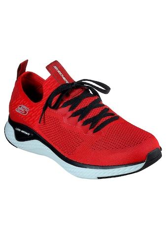 Skechers Sneaker »Solar Fuse«, im angesagten Materialmix kaufen