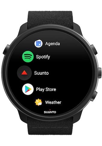 Suunto Smartwatch »7 Titanium«, (Wear OS by Google gratis Suunto Flasche) kaufen