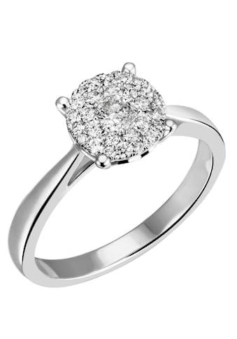 Firetti Diamantring »Solitär, ca. 2,40 mm breit, Glanz, massiv«, mit Brillanten kaufen