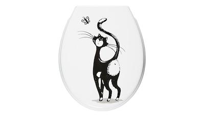Adob WC - Sitz »Katze«, Mit Absenkautomatik kaufen