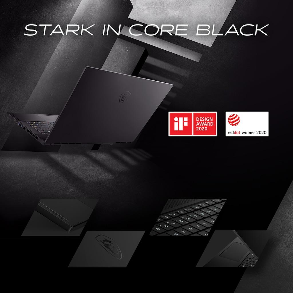 "MSI Ultrabook »GS66 10SFS-056 Stealth«, (39,6 cm/15,6 "" Intel Core i9 RTX 2070\r\n 0 GB HDD 1000 GB SSD), 39,6 cm (15,6"") Intel Core i9,1 TB, 16 GB"