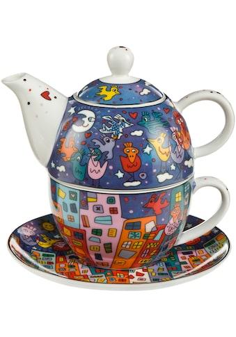 Teekanne »City Birds«, Tea for One kaufen
